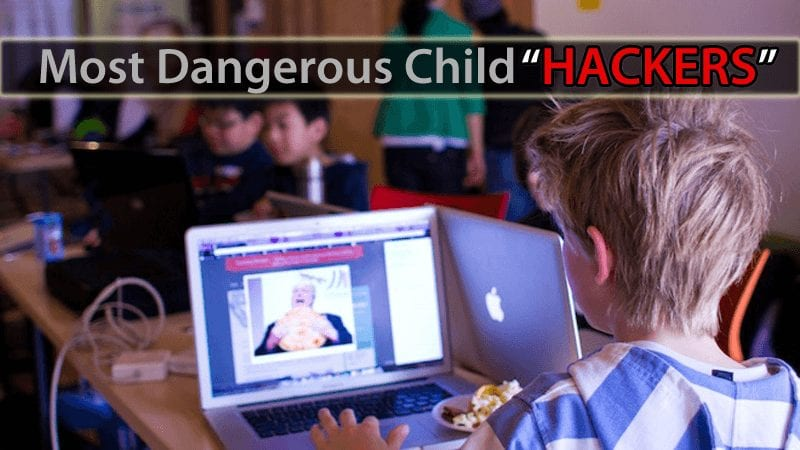 10 Most Dangerous Child Hackers