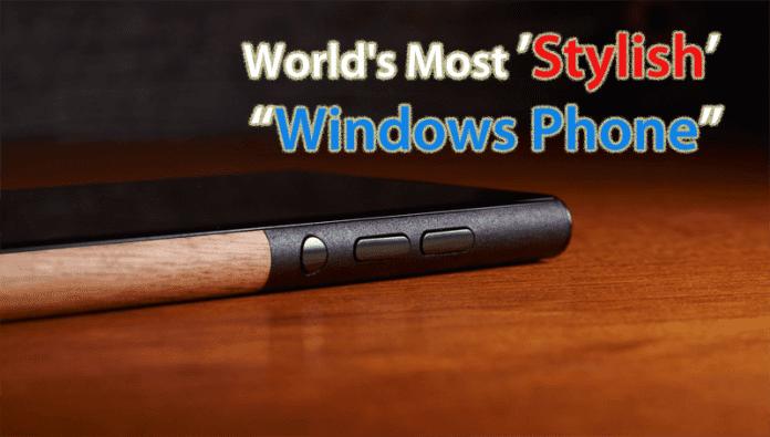Meet The World's Most Stylish Windows Phone