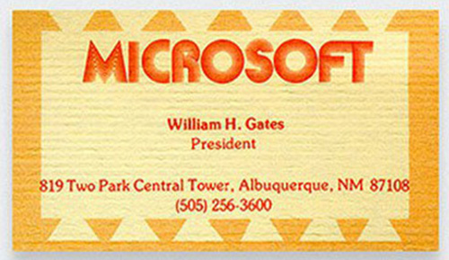 Bill Gates: Microsoft