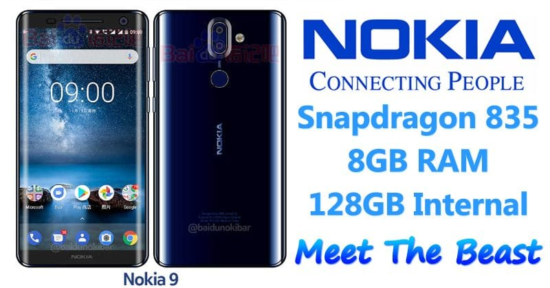 Nokia 9 Renders Leak, Shows Bezel-Less Design With Curved Glass Back