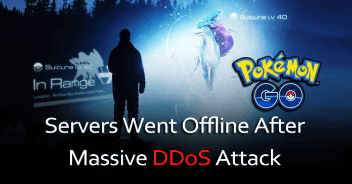 Pokémon Go Servers Went Offline After A Massive DDoS Attack