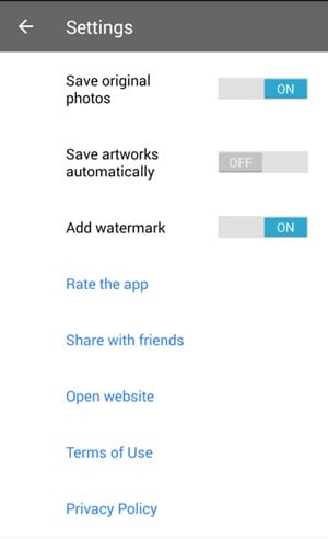 Remove Prisma Watermark in Android