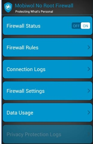 Restrict Internet Access To Apps In Android