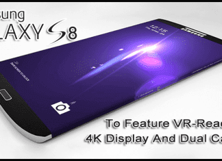 Samsung Galaxy S8 Codenamed 'Project Dream' To Feature VR-Ready 4K Display And Dual Camera