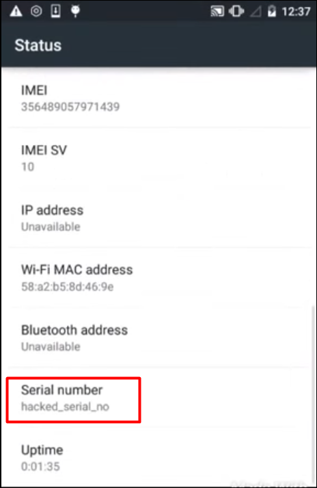 how to find your phone number android