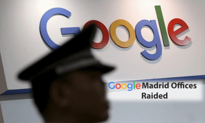Spanish Authorities Raided Offices Of Google In Madrid