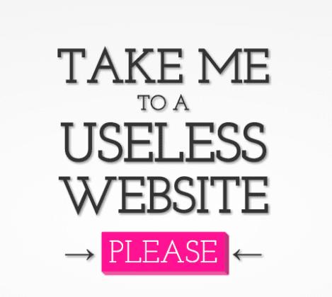 Bosan? Ini 40 Website Menarik untuk Menghilangkan Rasa Jenuh - The Useless Web