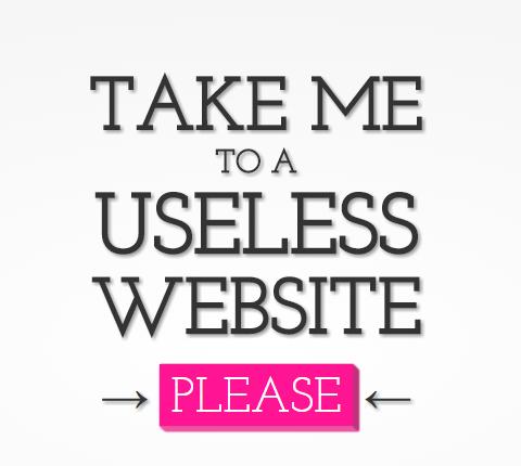 Le Web inutile