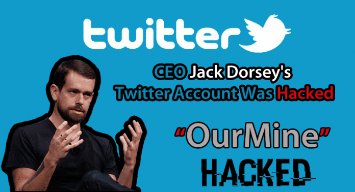Twitter CEO Jack Dorsey's Twitter Account Was Hacked