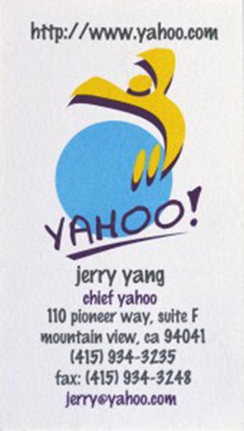 Jerry Yang: Yahoo