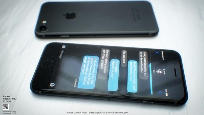Apple iPhone 7 Renders: