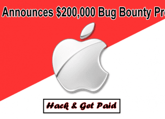 Apple Announces Long-Awaited $200,000 Bug Bounty Program