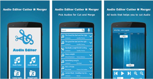 Audio Editor Cutter & Merger