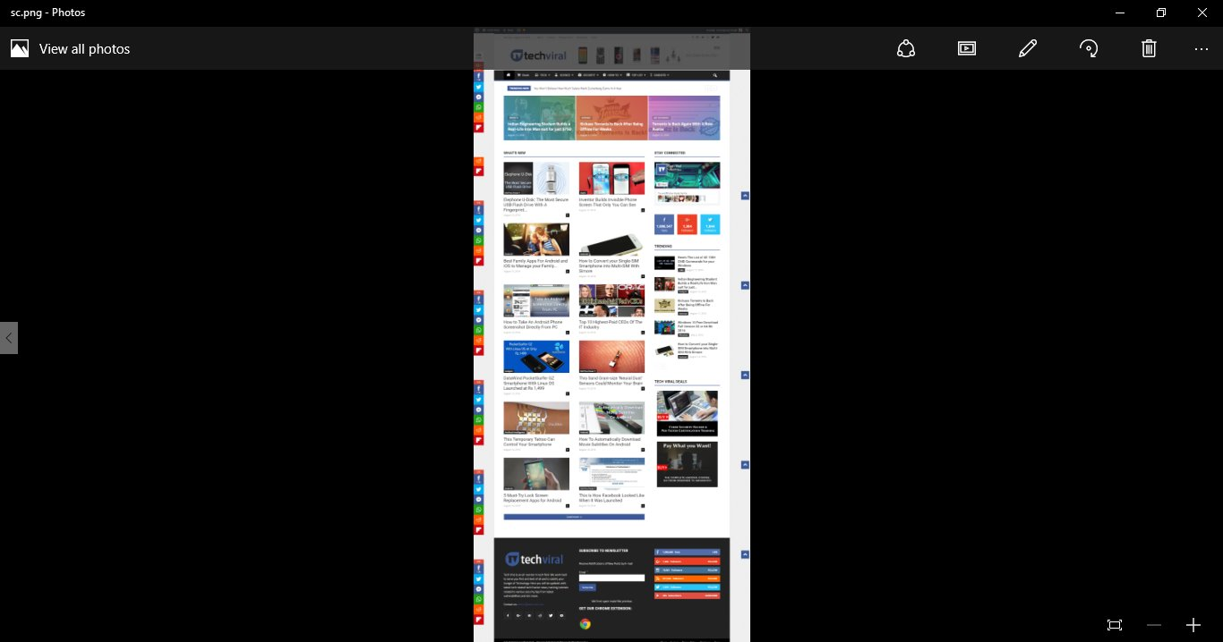 How to Take Screenshot of Full Webpage