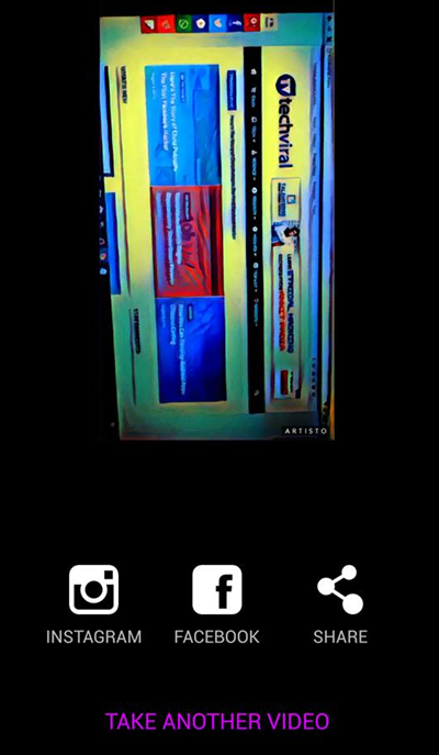 Convert Video Into Art In Android