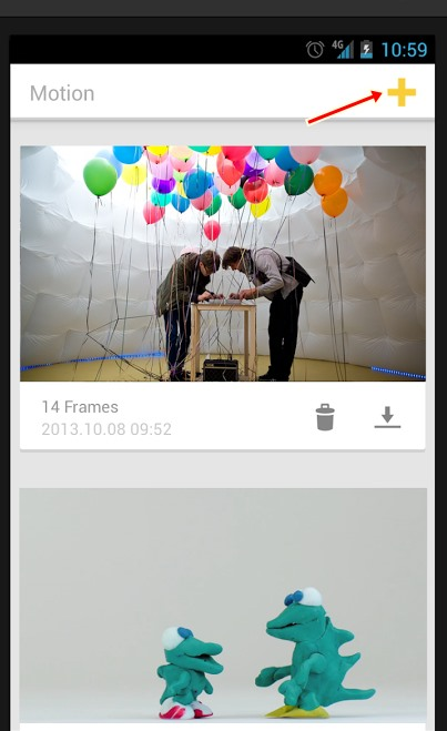 Create Stop Motion Videos on Android