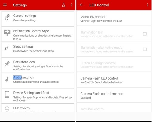 Customize Notification LED Behavior on Android