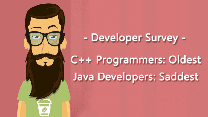 Java Developers Are The Saddest And C++ Programmers Are The Oldest: Developer Survey