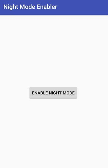Enable the Hidden 'Night Mode' Setting on Android 7.0 Nougat
