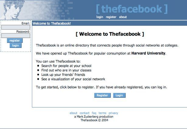 This Is How Facebook Looked Like When It Was Launched