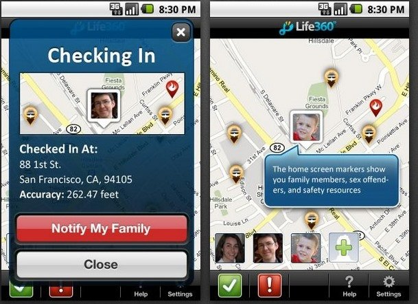 Family Managing Apps For Smartphone