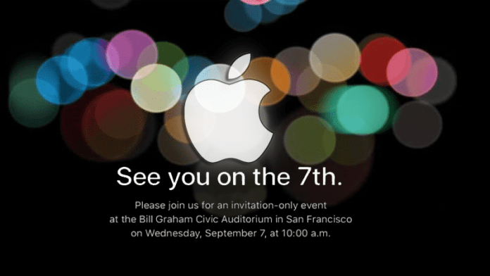 Finally, Apple Officially Confirms September 7 Event For iPhone 7.
