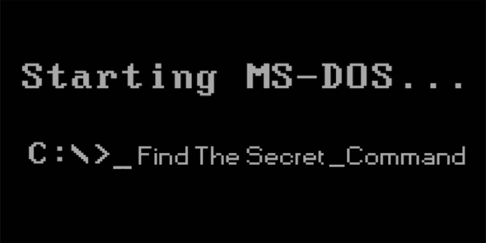 Find This Secret Command In MS-DOS Code To Win $100,000 Reward