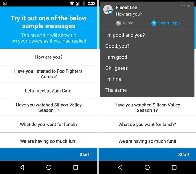 Get Smart Replies in Notifications on Android