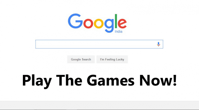 games to play on google search