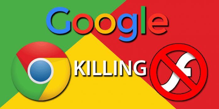 Google To Finally Kill Flash By The End Of 2016