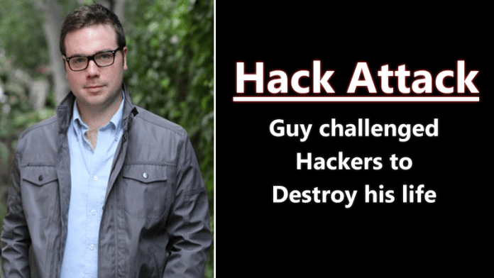 This Guy Challenged Hackers to Hack Him, Instantly Regrets His Decision
