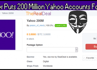 Hacker Puts 200 Million Yahoo Accounts For Sale On Dark Web