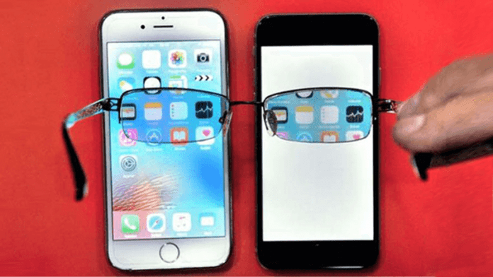 Inventor Builds Invisible Phone Screen That Only You Can See