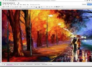 Make Pixel Paintings with Google Spreadsheets