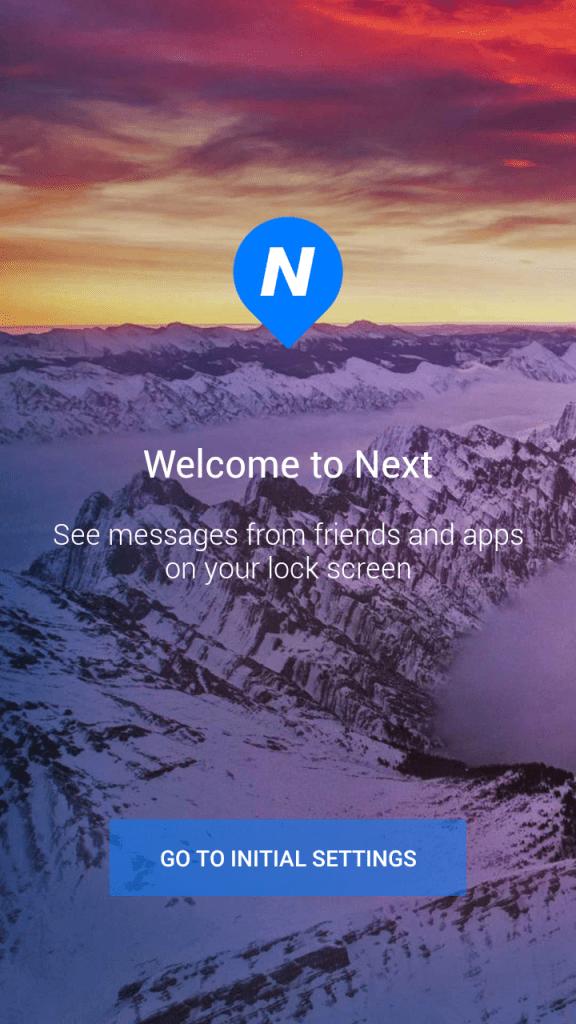 Using Microsoft's Next Lock Screen