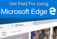 Now Get Paid For Using Microsoft's Edge Browser