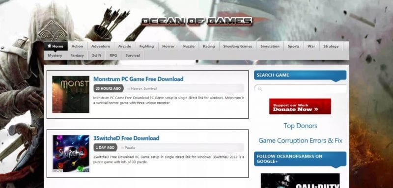 Best Sites To Download PC Games
