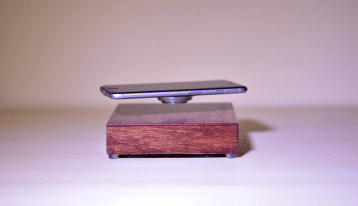 You Can Charge Your Smartphone Mid-Air With This Levitating Wireless Charger
