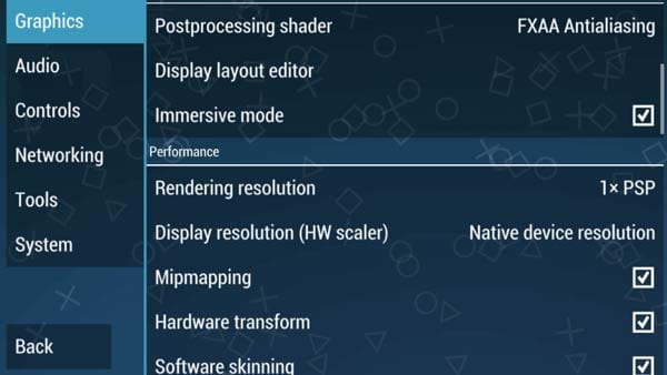 Best Settings For PPSSPP Emulator to Avoid Lags