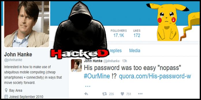 Pokemon GO Developer's Twitter Account Hacked