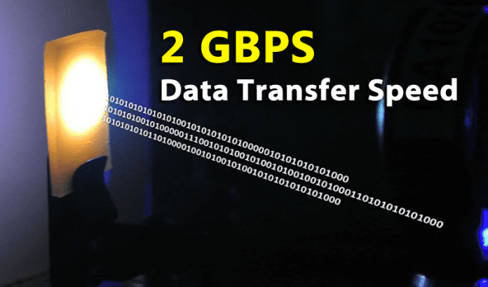 2 Gbps Data Transfer Rate Is Now Possible Using LED Light