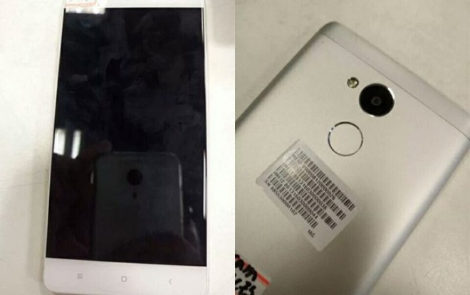 Redmi 4 Front and Back