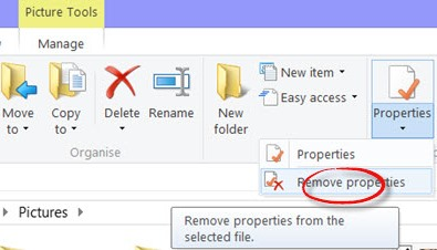 Remove EXIF Data From Photos