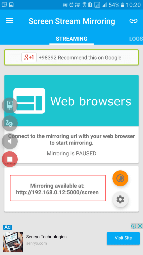 Collnet how to mirror your android phone s screen on your for Mirror your android screen to a pc