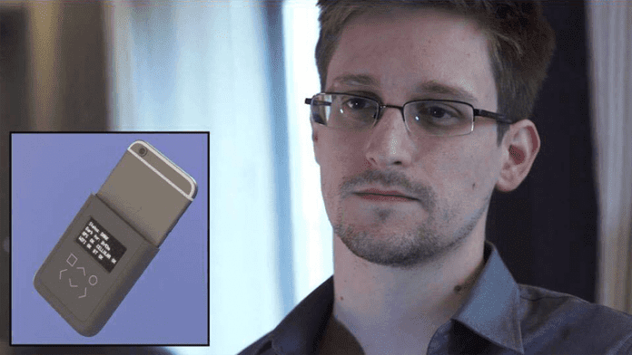 Snowden Designs An iPhone Case That Will Tell You If NSA Spying On You