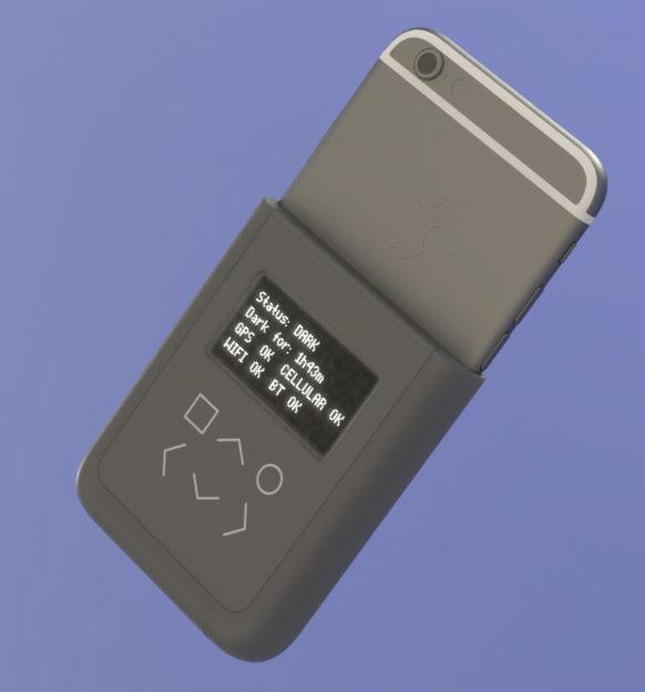 Snowden Designs an iPhone case