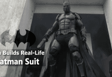 This Guy Made A Real Life Batman Suit That Packs 23 Bat-Gadgets