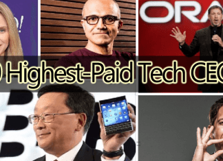 Top 10 Highest-Paid CEOs Of The IT Industry
