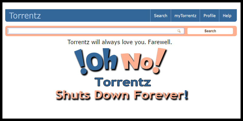 torrentzeu search engine mysteriously shuts down forever