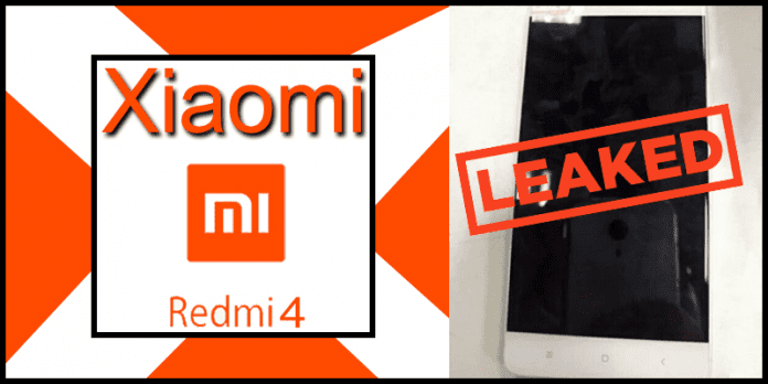 Xiaomi Redmi 4 Leaked Images Shows New Design And Metal Body